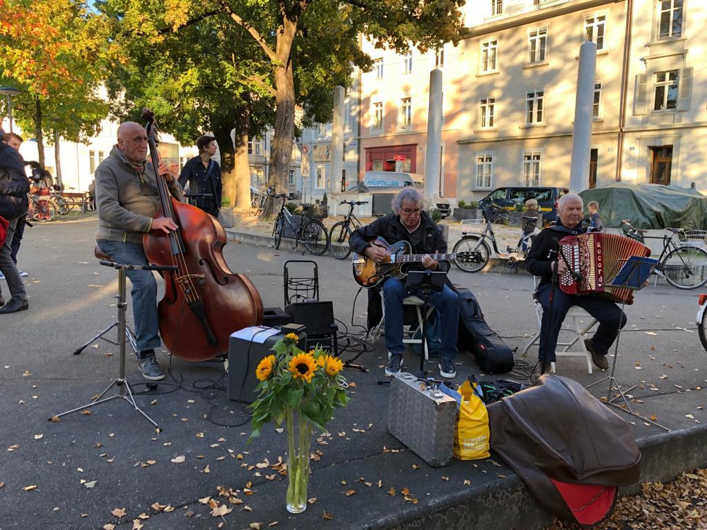 Graue Panter Jazz-Trio I A. Hungerbühler
